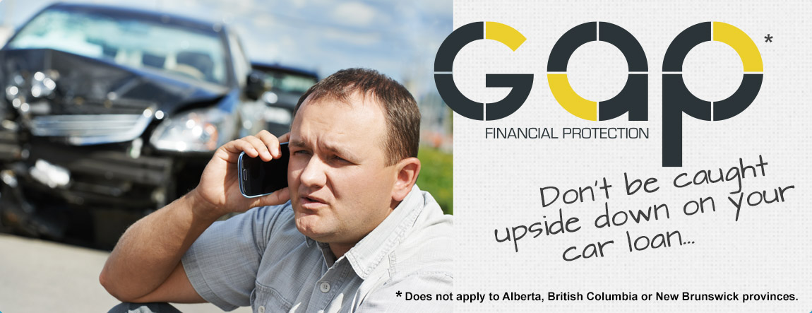 Gap FInancial Protection - covering your costs in the case of a total write-off.