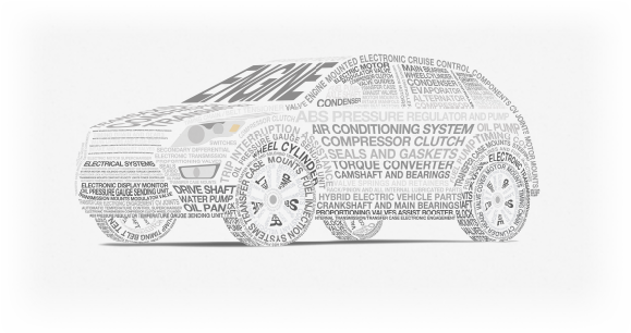 Word car illustration